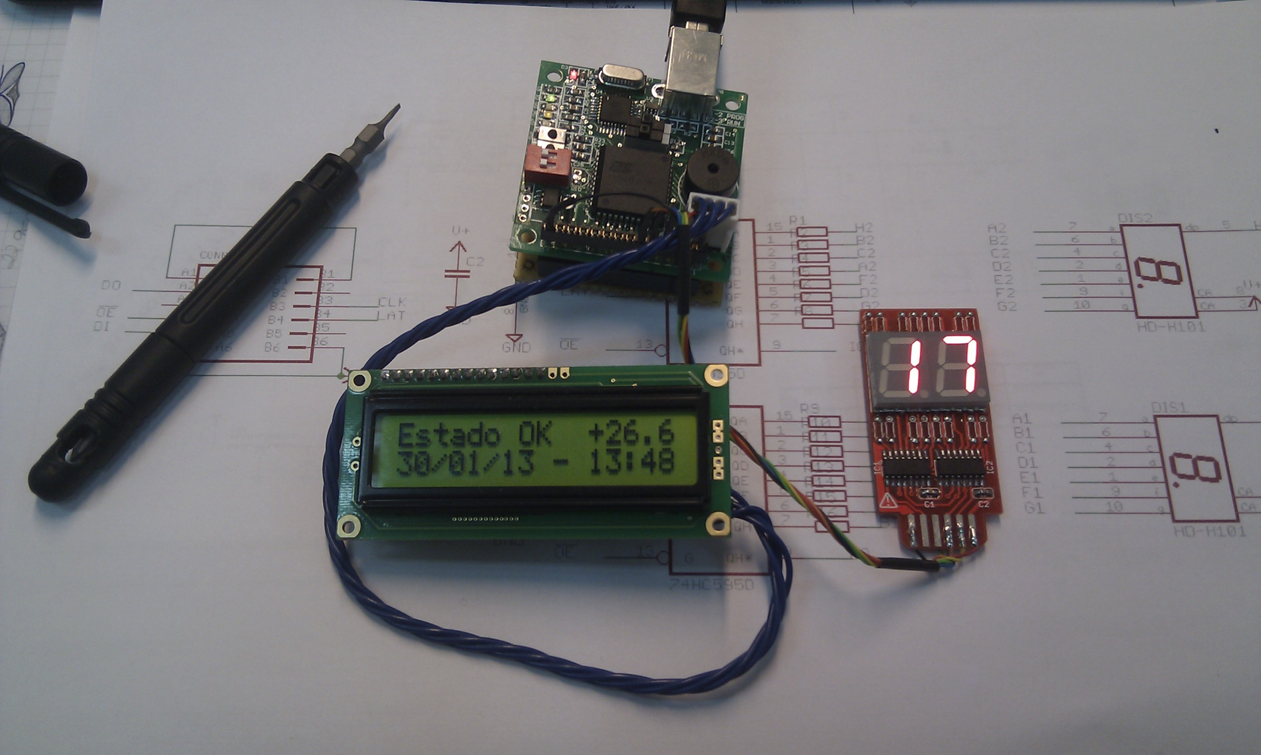 Digital Paddle Clock