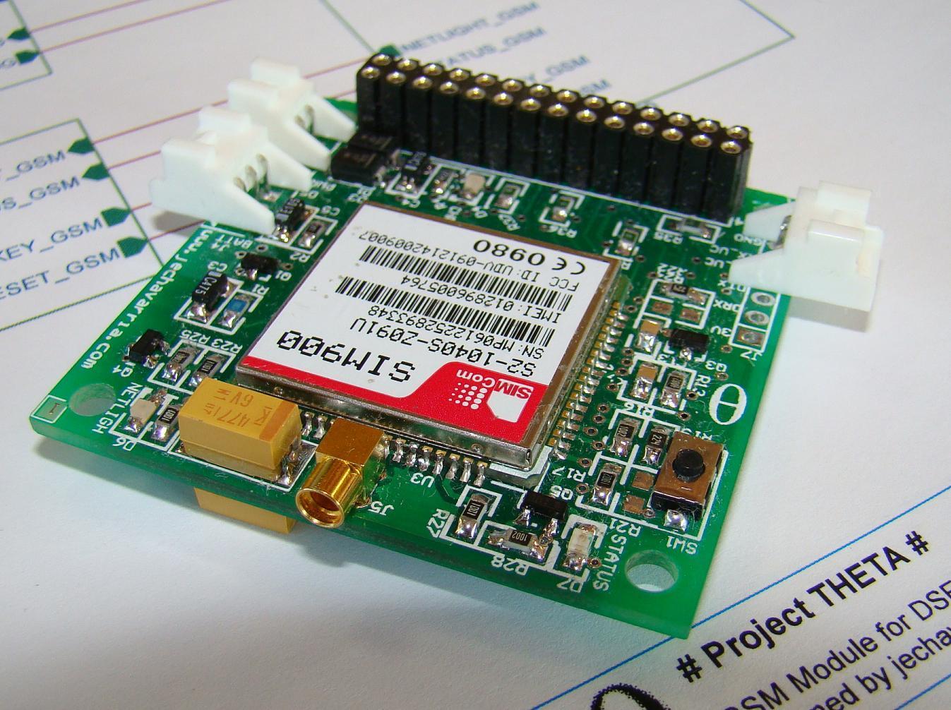 SIM900 Breakout Board