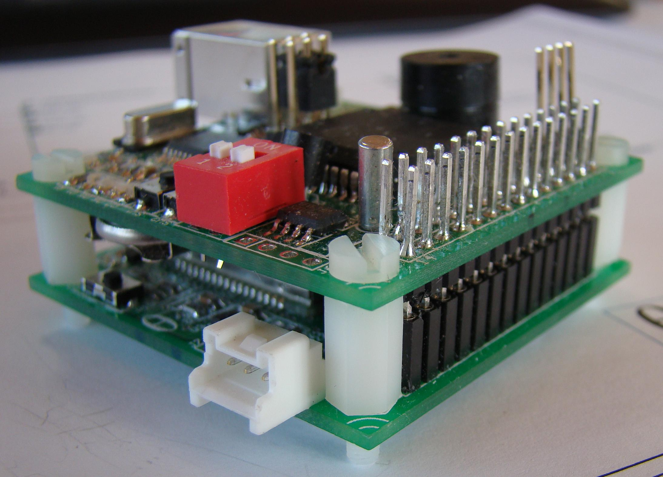 SIM900 Breakout Board and DSETA board