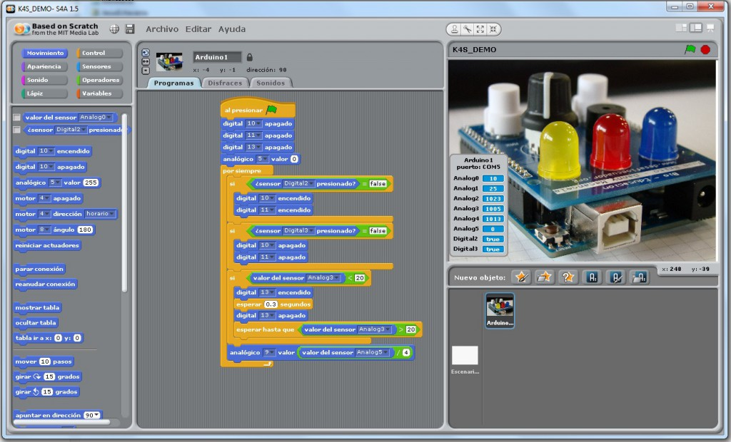 K4S_DEMO_screenshot