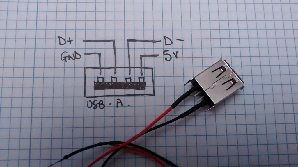 adding a USB power port to a switch for IOT