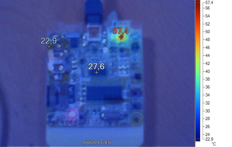 Portable temperature, humidity and light ambient datalogger